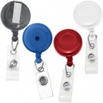 Badge Reel with Vinyl Strap