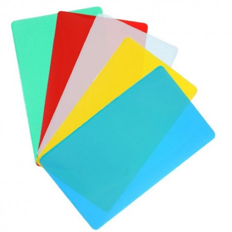 "10 MIL 2 1/8"" x 3 3/8"" Credit Card Size Laminating Pouches"