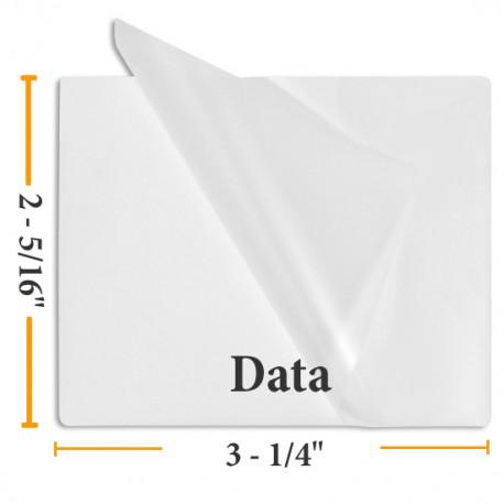"""BULK Data Card Laminating Pouches - 1000 2 5/16"""" x 3 1/4"""""""