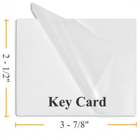 Key Card Size Lamination Pouches