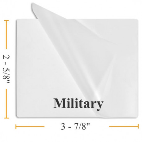 Government Size Lamination Pouches