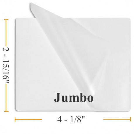 BULK Jumbo Laminating Pouches - Case 1000 Pouches