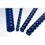 Plastic Binding Combs - BLUE