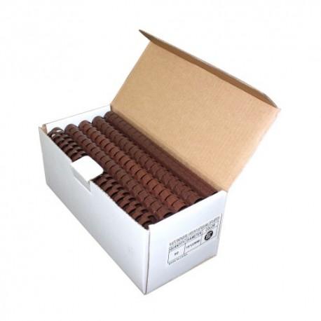Plastic Binding Combs - BROWN