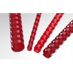 Plastic Binding Combs - Red